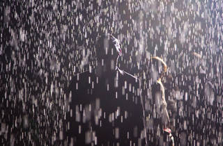 Rain Room is a must-visit, even if it won't get you wet