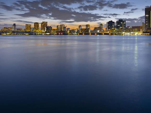 東京湾の夜景