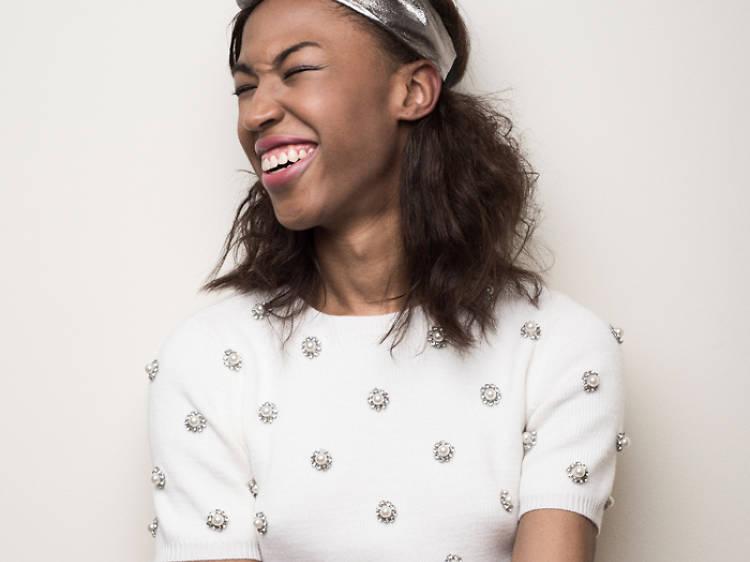 Kita Updike, stylist and model