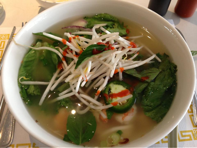 Jasmine Garden, one of the best pho restaurants in San Francisco