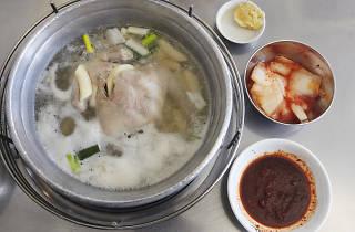 Jin Ok-hwa Halmae Wonjo Dakhanmari Restaurant