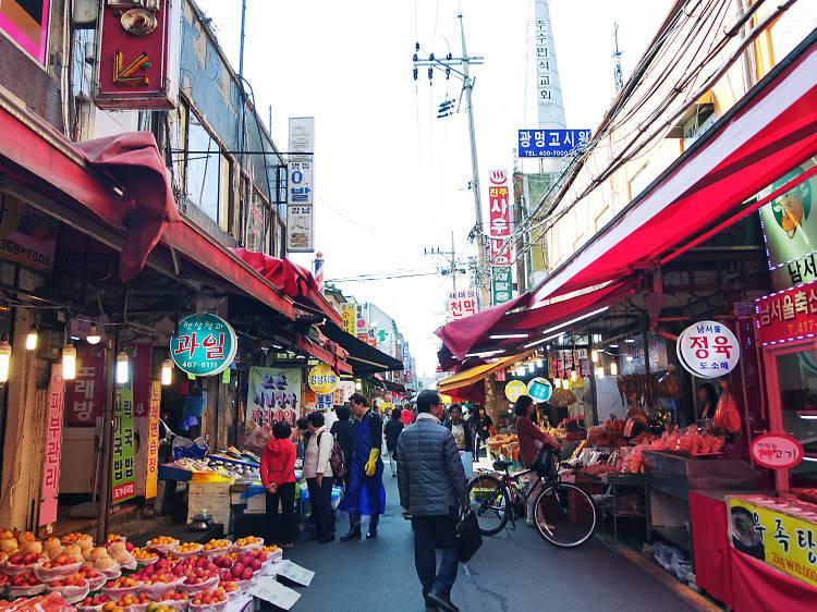 Jamsil Saemauel Market