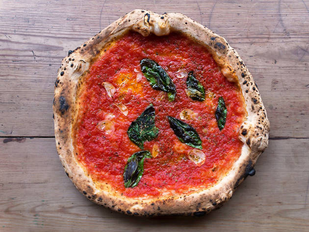 vegan restaurants in London, Pizza Pilgrims