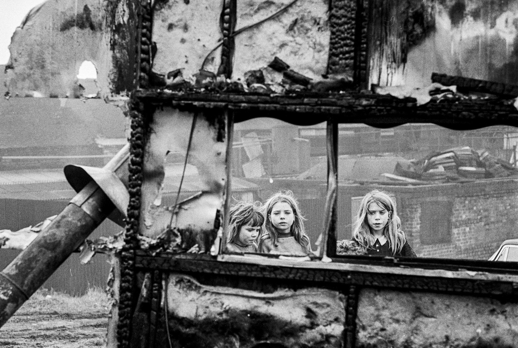 Gypsy Children, Burned-Out Tram, early '60s