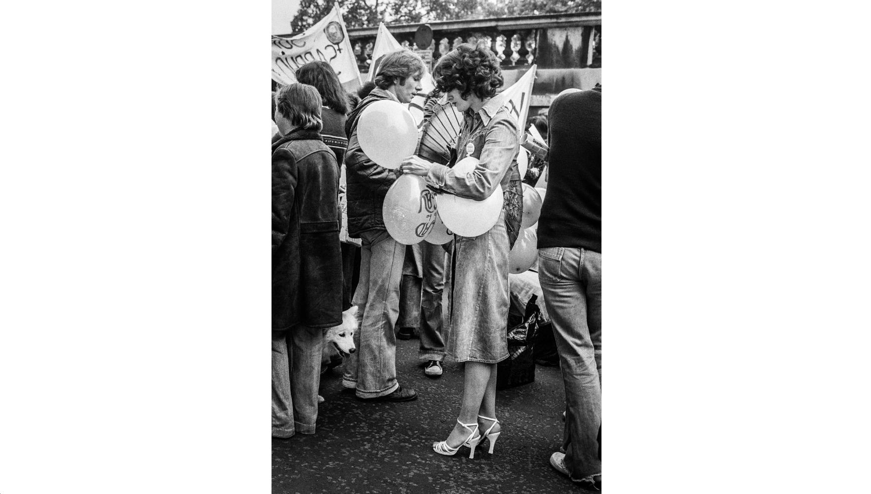 Gay Pride Demo, 1977