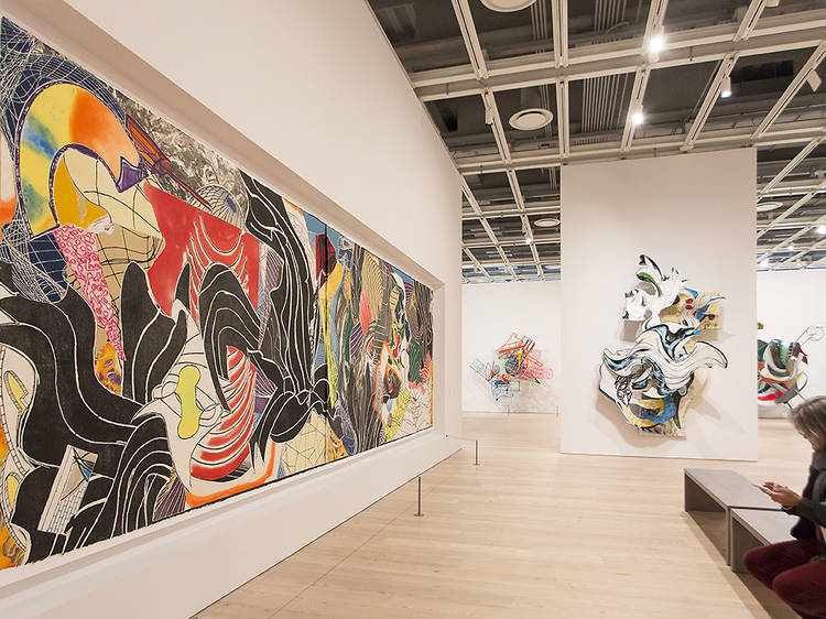 """Frank Stella: A Retrospective"""