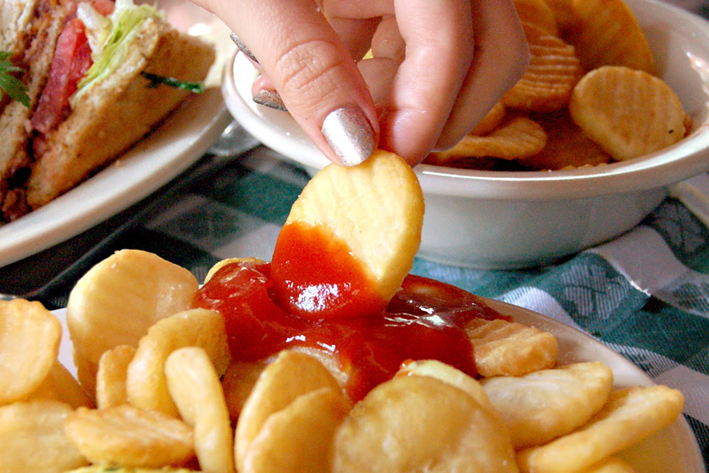 Cottage fries at J.G. Melon