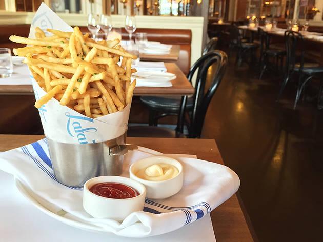 Pommes frites at Lafayette