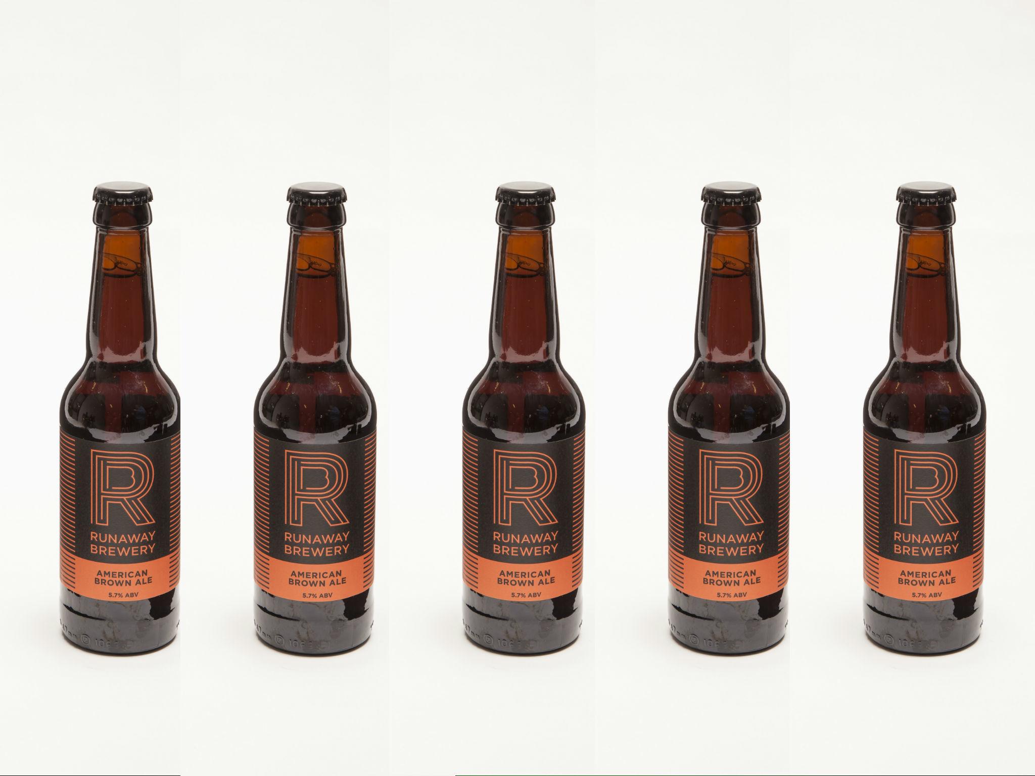 Runaway Brewery – American Brown Ale (5.7 percent)