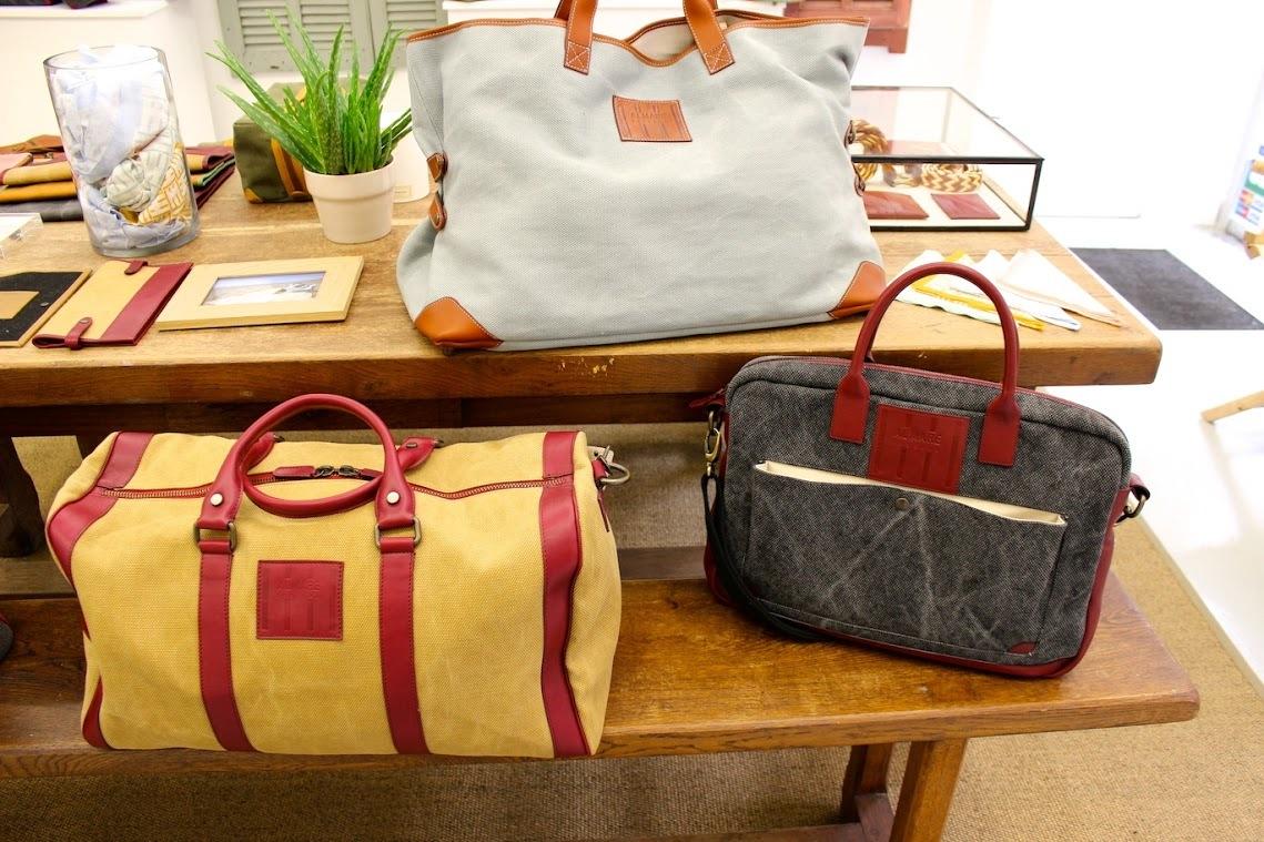 Un sac de voyage chez Almare Toscana