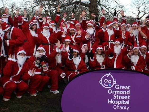 Great Ormond Street Hospital's Santa Dash