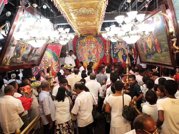 Visit the hallowed grounds of Kataragama