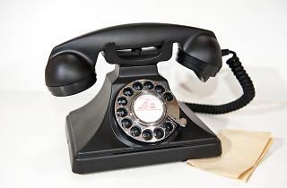 Escape Plan vintage telephone