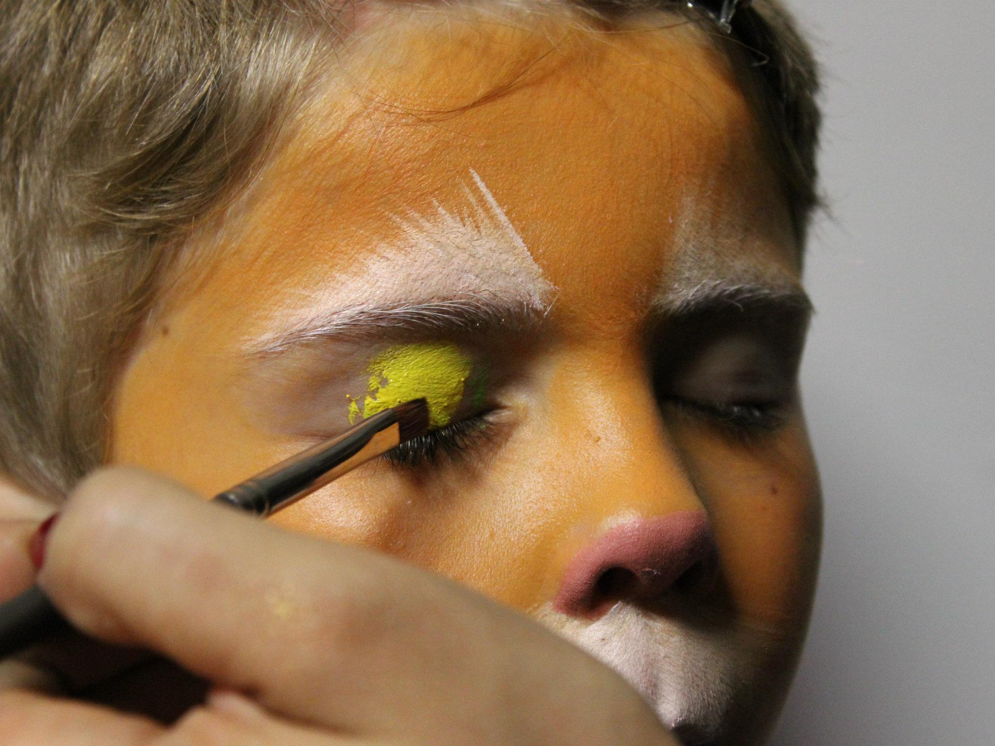 Maquillaje para niños de El gato con botas