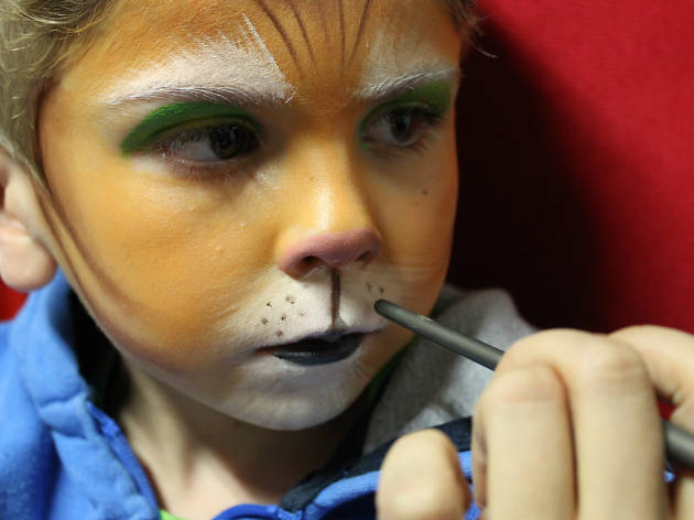 Maquillaje El gato con botas