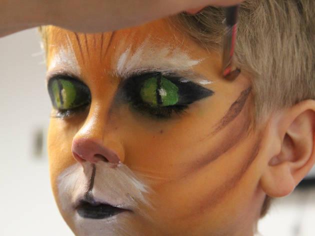 Maquillaje de El gato con botas