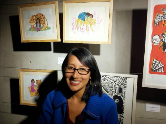 Elylu ilustradora de Gran Salón México