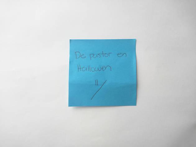 Confesiones de post-it