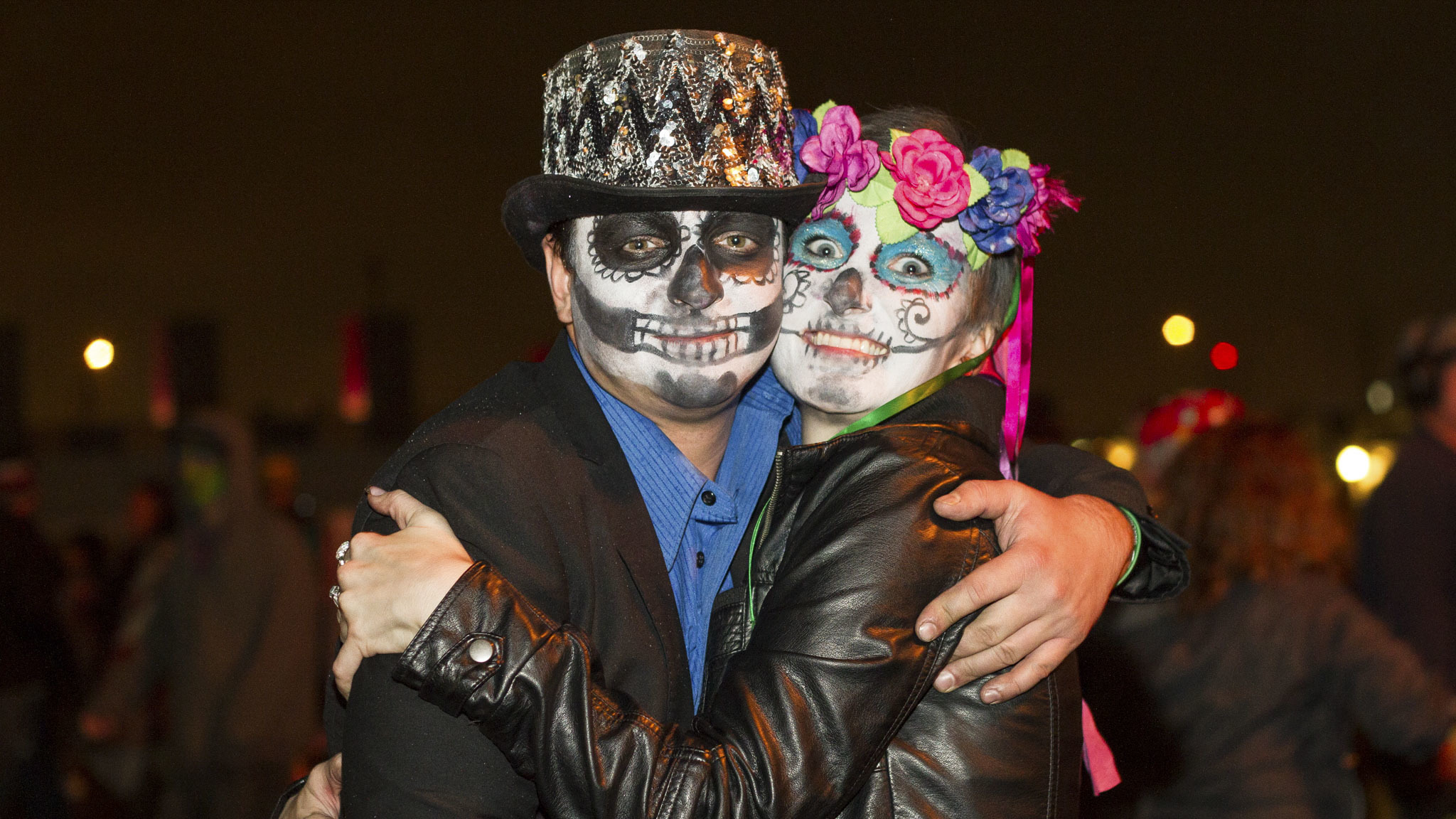 Electronic music fans showed up in costume at the 2015 Freaky Deaky Halloween festival in Toyota Park.