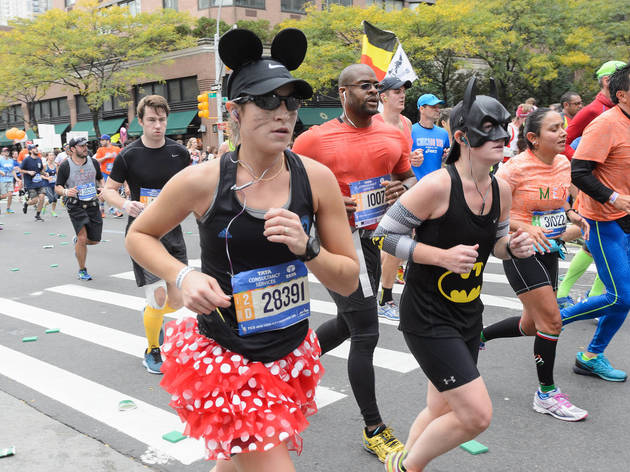 The 18 best costumes from this year's post-Halloween NYC Marathon
