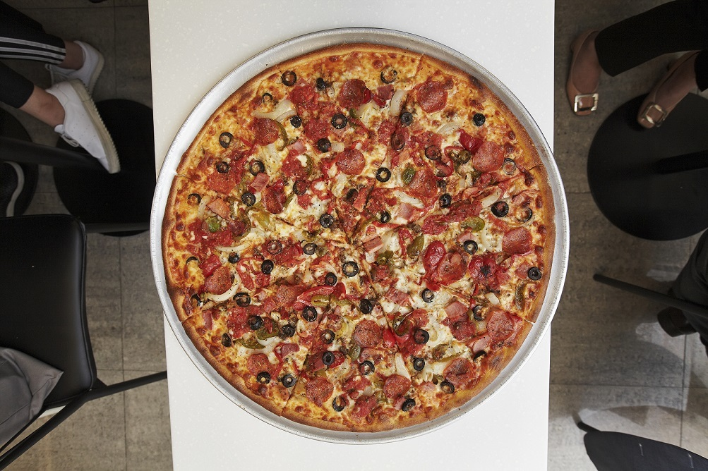 다시 뜨는 피자집