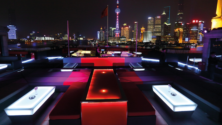 For seeing Shanghai's 'jet-set'