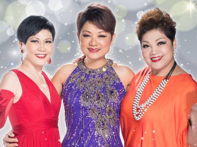 2016 New Year Countdown with 3 Asian Divas
