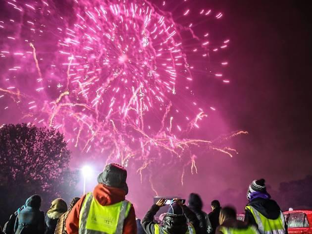 Diwali Grand Firework Display