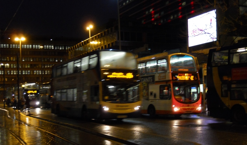 Five things you learn on Manchester night buses