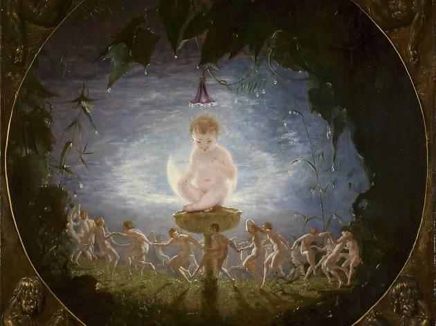 (Richard Dadd, 'Puck', 1841. Courtesy Harris Museum & Art Gallery. Photo: Simon Critchley)