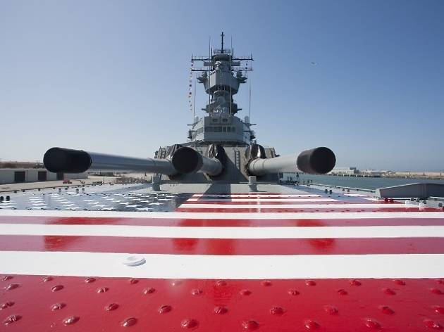 Battleship IOWA—Veterans Day Festival