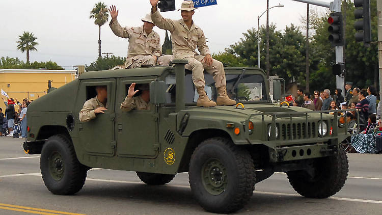 San Fernando Valley Veterans Day Parade