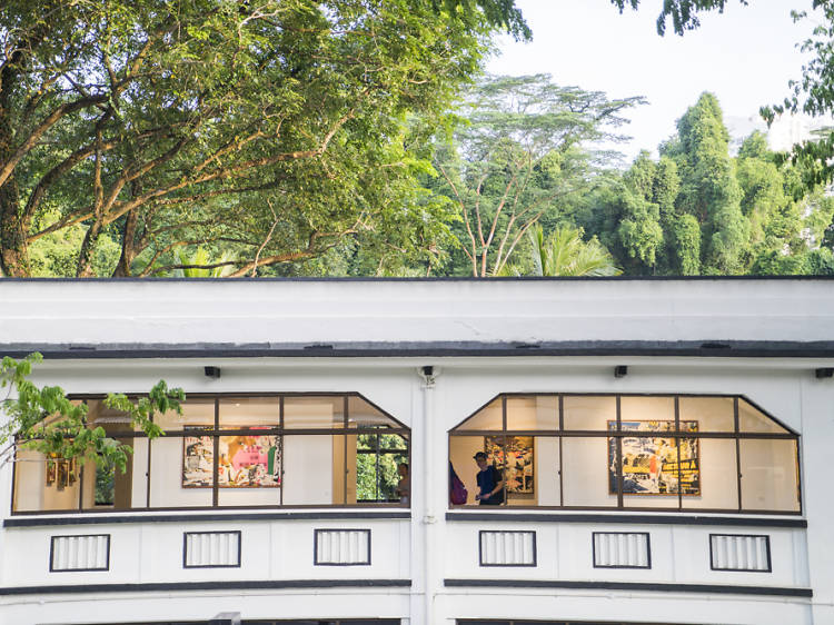 Escape to an art paradise at Gillman Barracks