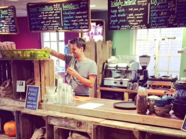 Glo juice bar Fulham 2015