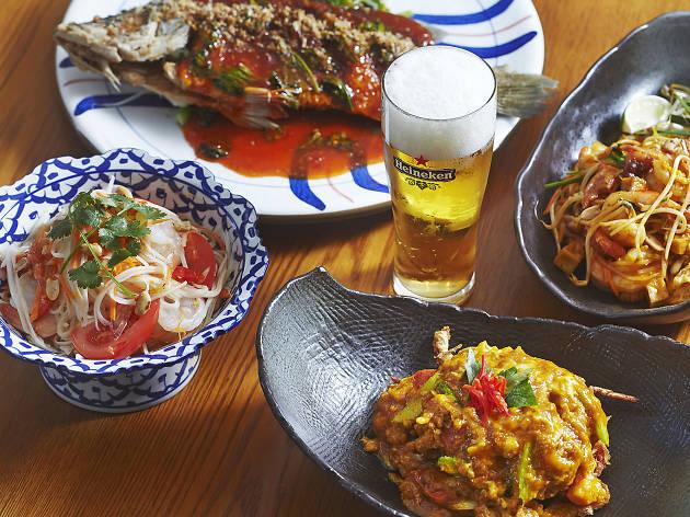 생어거스틴, 태국음식