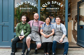 Old Spike Roastery coffee shop Peckham 2015