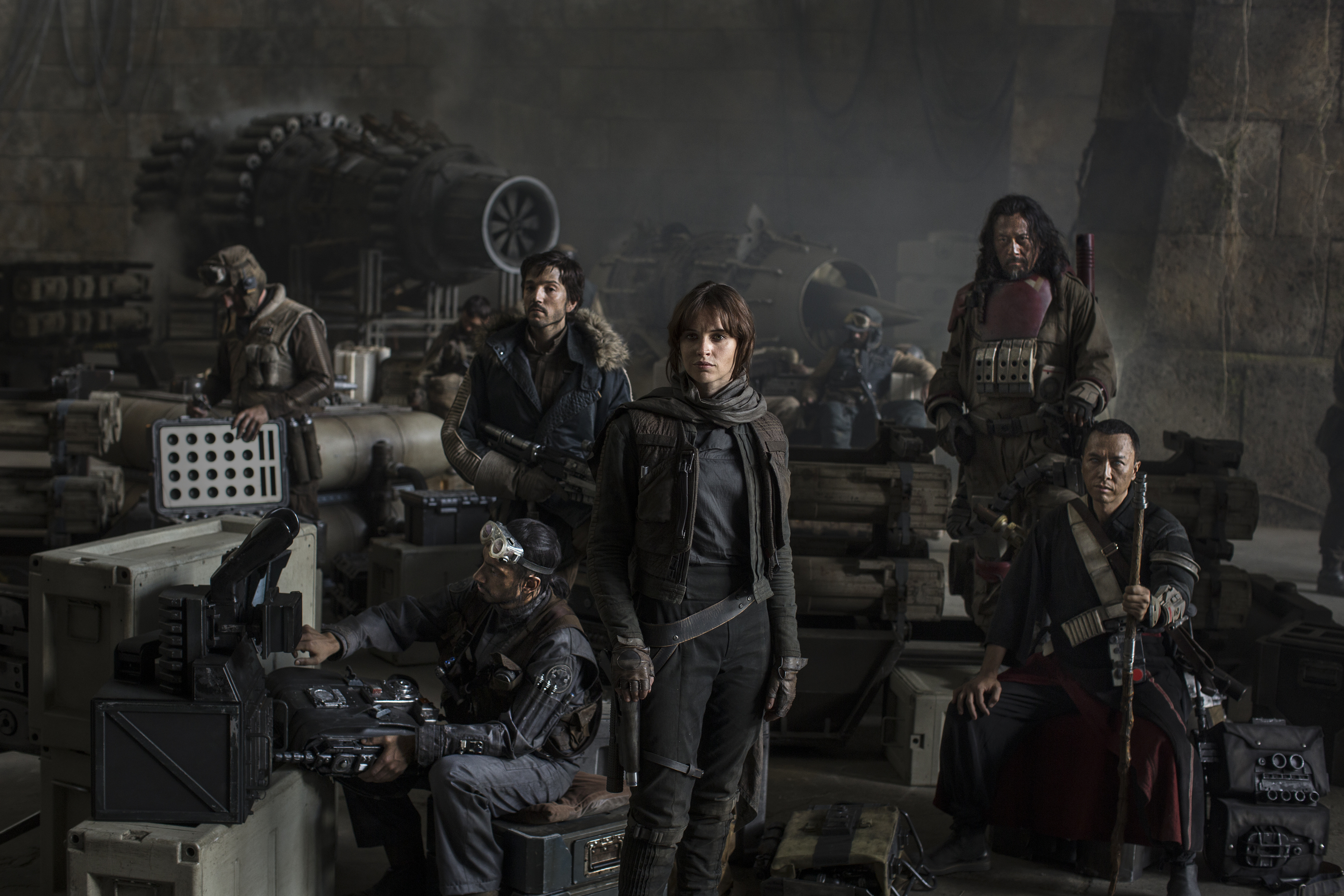 Five things we know about 'Rogue One: A Star Wars Story'