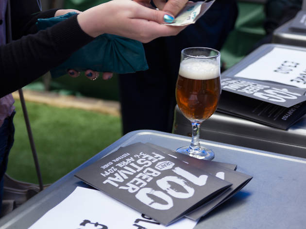 Beer festivals in London, craft100
