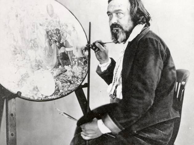 (Richard Dadd painting 'Contradiction' c.1857. © Bethlem Museum of the Mind)