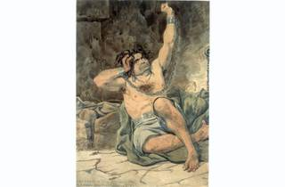 (Richard Dadd, 'Agony - Raving Madness', 1854. Courtesy Bethlem Museum of the Mind)