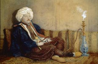 (Richard Dadd, 'Sir Thomas Phillips in Turkish Dress', 1842-3. Courtesy Bethlem Museum of the Mind)