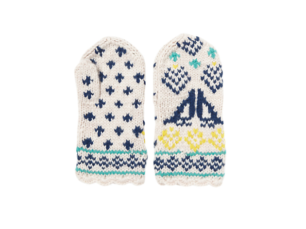 Best winter warmers: Lowie oatmeal mittens