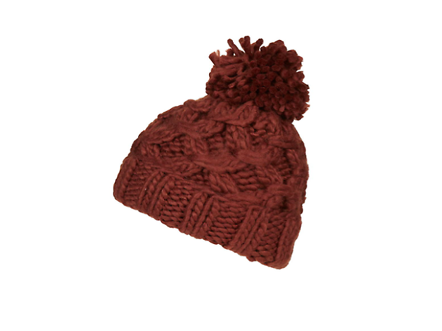 Chain hand-knitted beanie by Topshop, £16