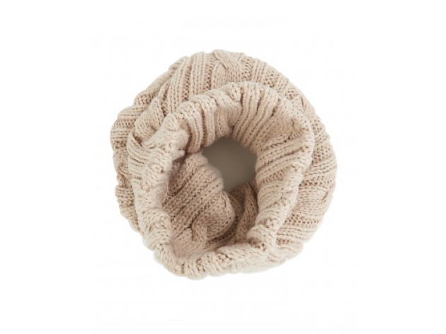 Best winter warmers: Atterley cream wool snood
