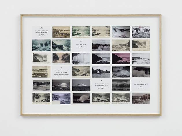 (Susan Hiller, 'On the Edge',  2015. © Susan Hiller; Courtesy Lisson Gallery, London.)