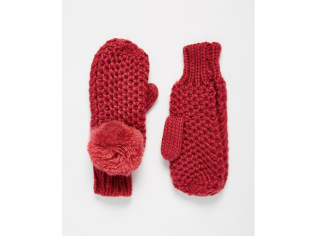 Best winter warmers: ASOS pom pom mittens