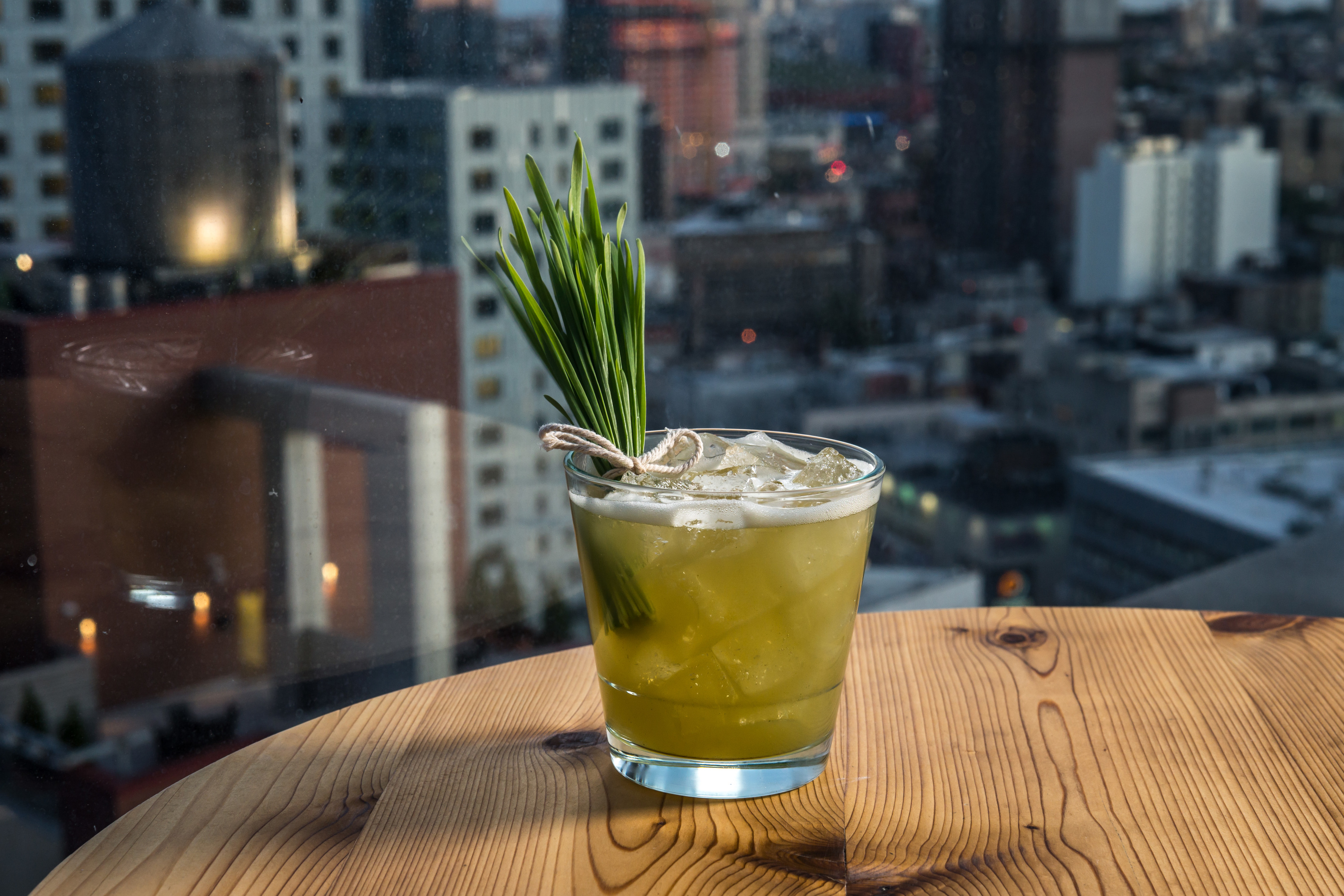KIMOTO ROOFTOP BAR tranquility cocktail