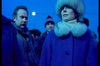 (Chantal Akerman: still from 'D'est: au bord de la fiction', 1995.)