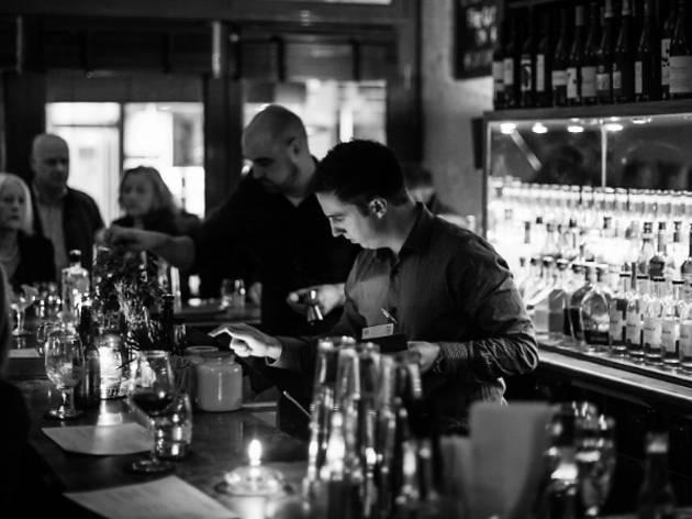 Charlottes W4 bar Turnham Green 2015