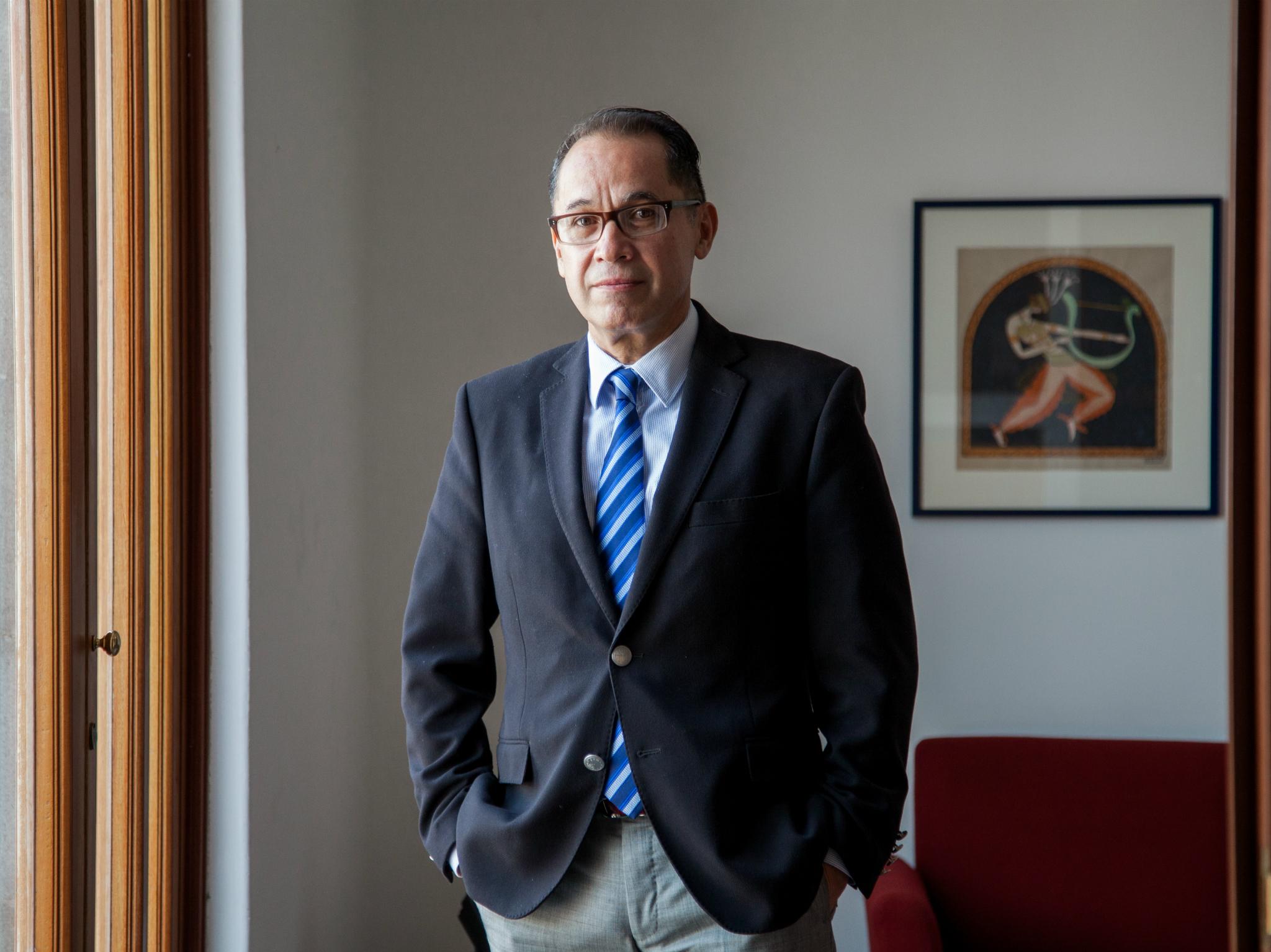 Agustín Arteaga, director del MUNAL